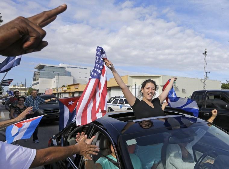 Image: Castro's death