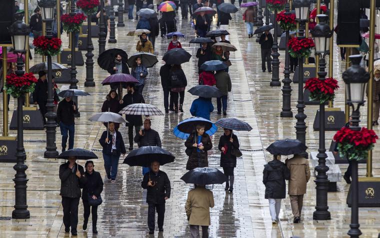 Image: Rain in Malaga