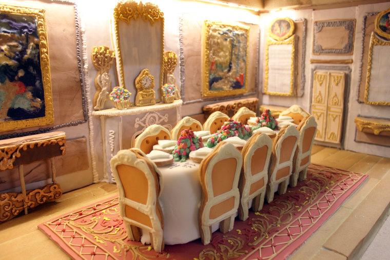 Waddesdon Manor gingerbread
