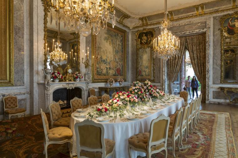 Waddesdon Manor dining room
