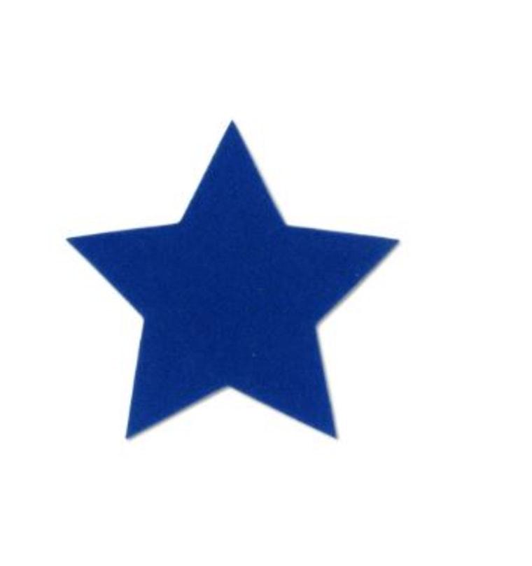 Blue velvet star