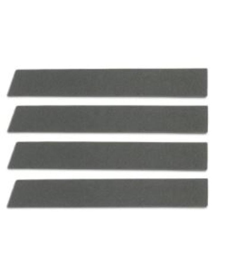 Velvet stripe sticker