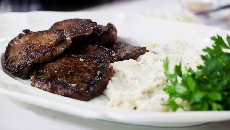 Al's Steak with Garlic and Herb Butter