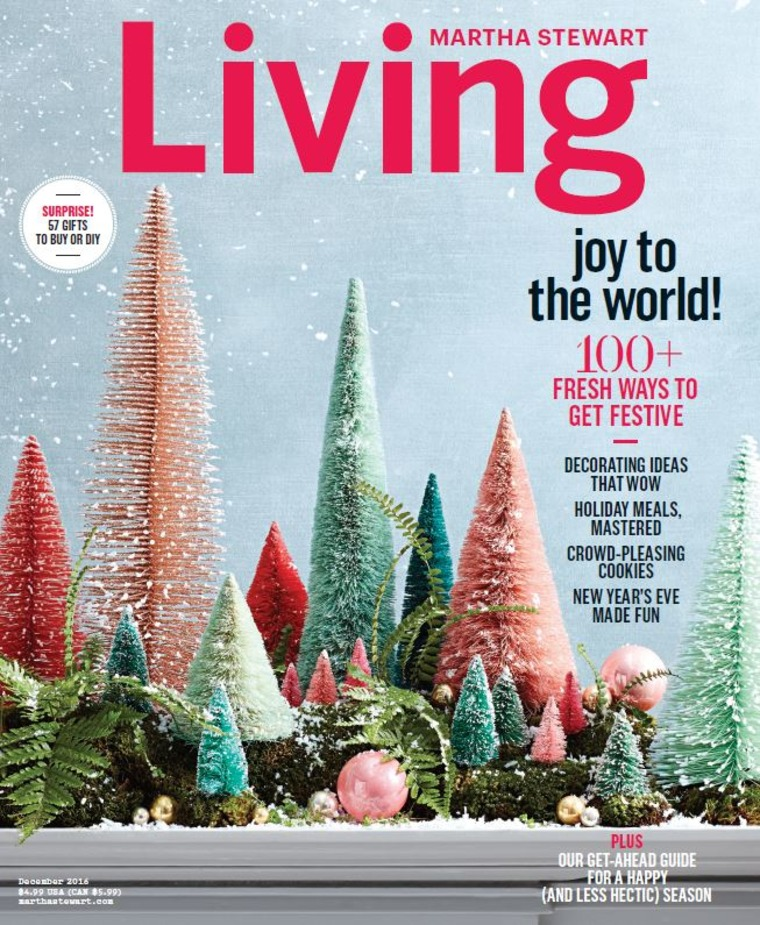 Martha Stewart Living December 2016