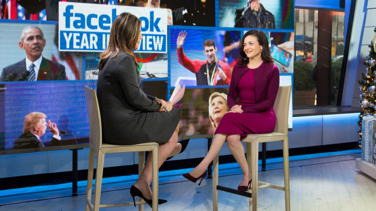 Sheryl Sandberg on Facebook's 2016 Year in Review