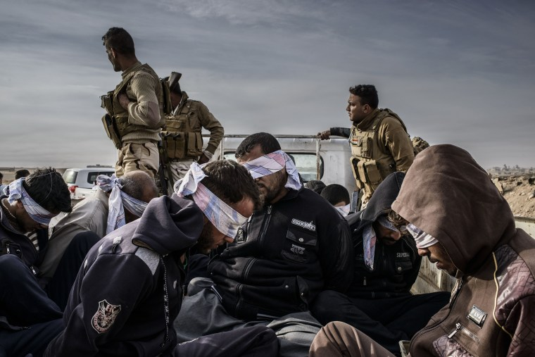 Image: Detained Suspects, Iraq.