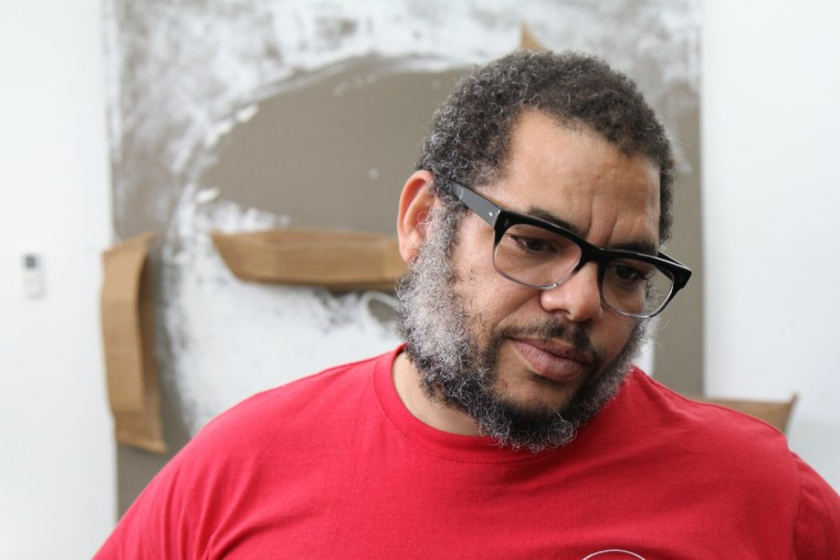 Kcho, aka, Alexis Leiva Machado, is one of Cuba's most famous artists.