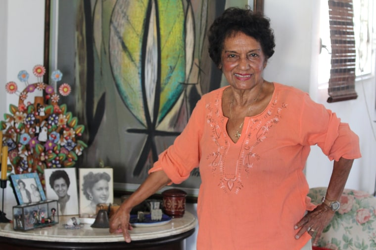 Marta Rojas is a journalist and writer who covered Fidel Castro's 1953 trial