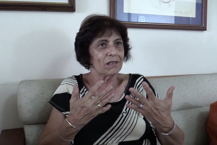 Rebeca Chavez is a filmmaker who has made several documentaries about Fidel Castro and the Revolution.