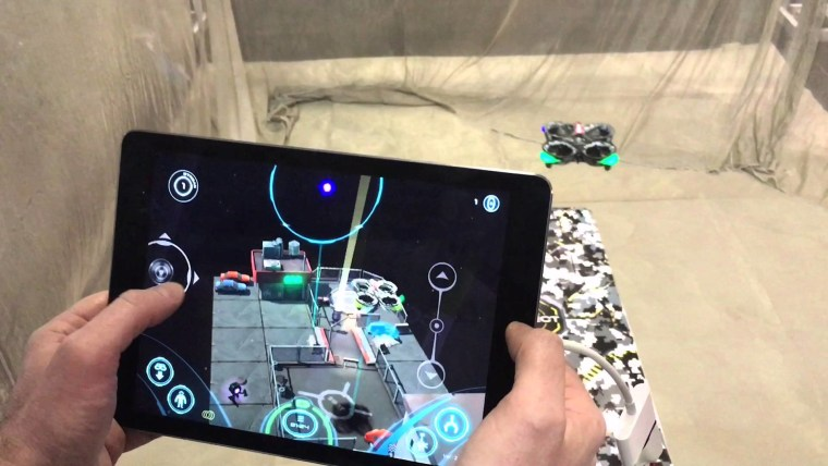 This Air Hogs drone has an augmented reality component so kids can follow the action on their phone or tablet.