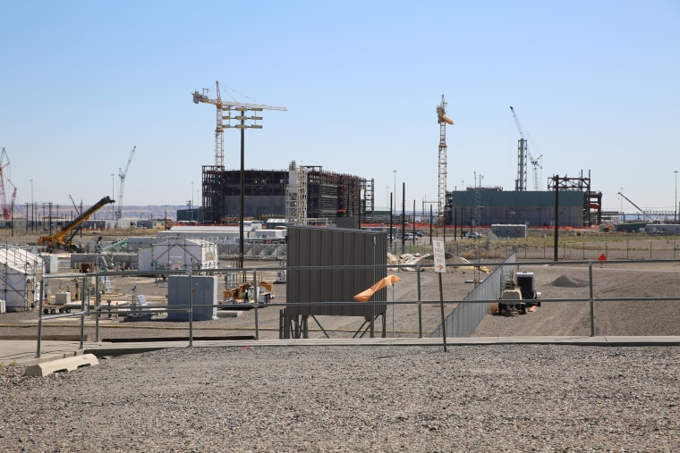Clean up of the toxic material at the Hanford Nuclear Site is expected to take 50 years.