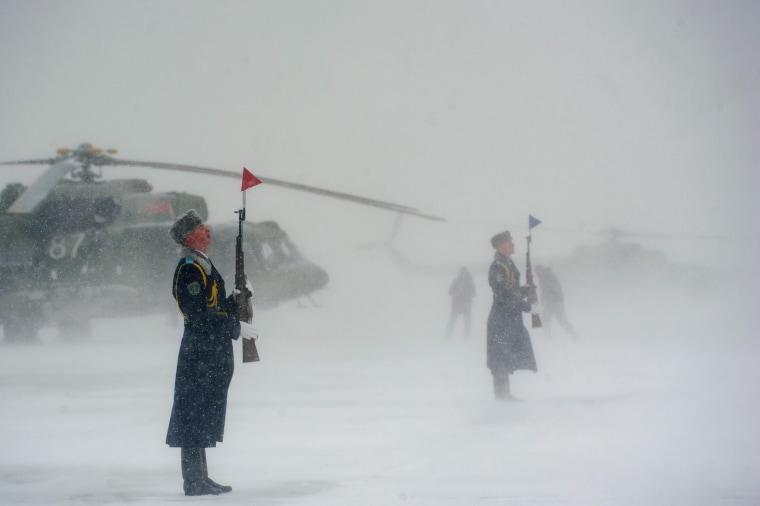 Image: TOPSHOT-BELARUS-RUSSIA-MILITARY