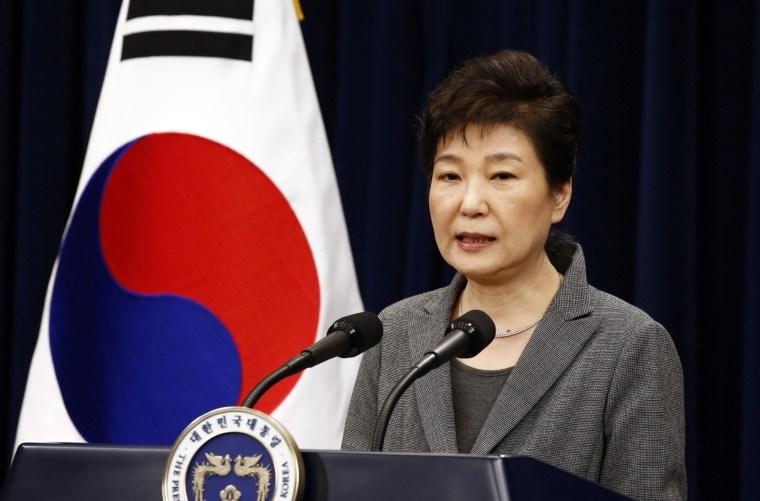 IMAGE: South Korean President