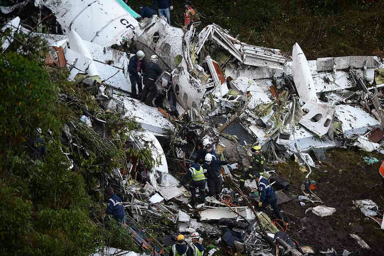 Image: -COLOMBIA-PLANE-ACCIDENT