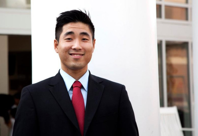 Sam Park became Georgia's first openly gay state legislator this past Election Day.
