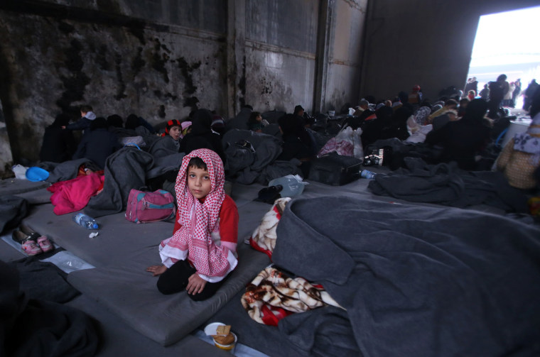 Image: TOPSHOT-SYRIA-CONFLICT