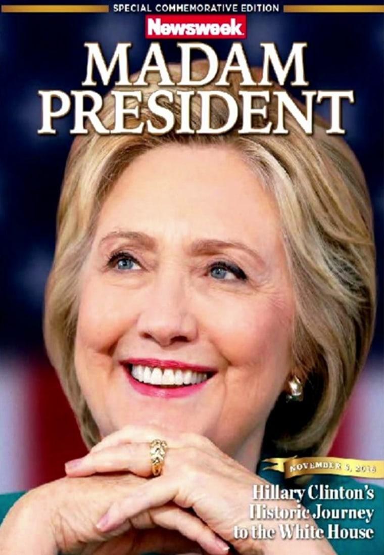 IMAGE: Recalled Newsweek edition