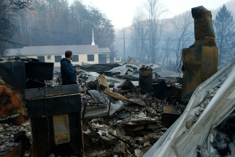 Image: Gatlinburg wildfires