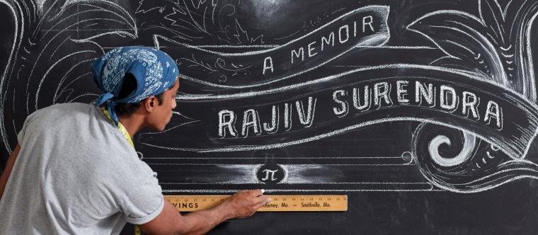 "Rajiv Surendra's new memoir, ""The Elephants in My Backyard"" was published in November."