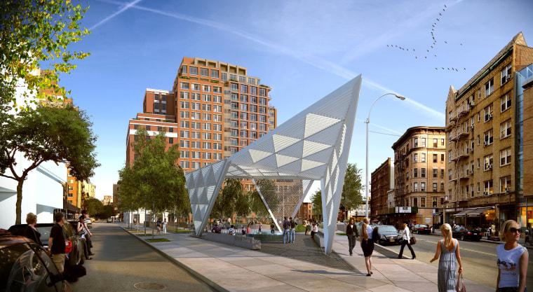 New York City AIDS Memorial 2016 artist rendering