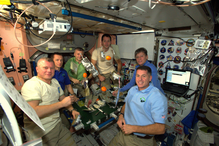 Image: Space Station Thanksgiving