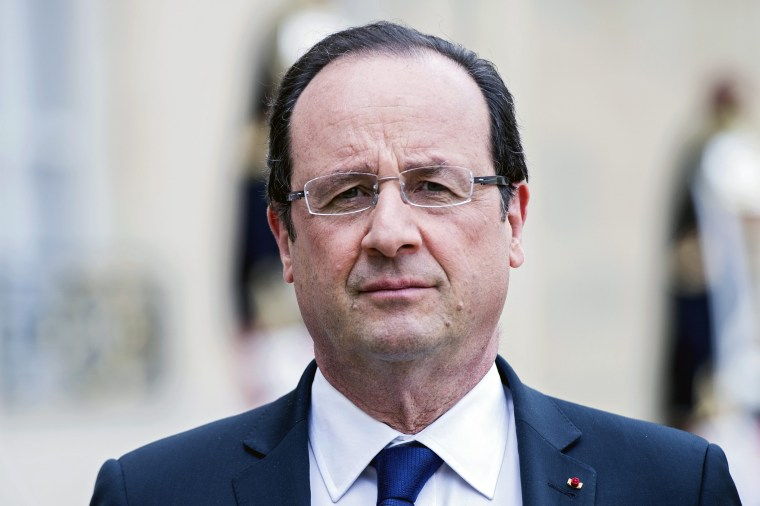 Image: French President Hollande announces not to run for re-election