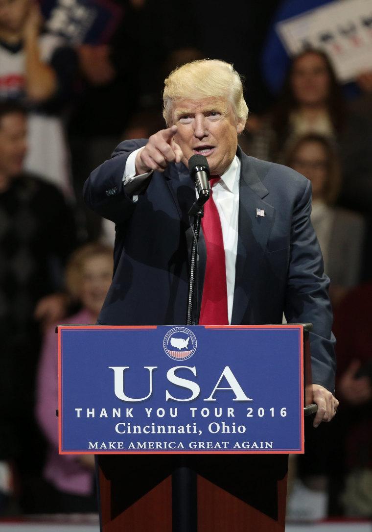 Image: President-elect Donald Trump Thank You Tour 2016