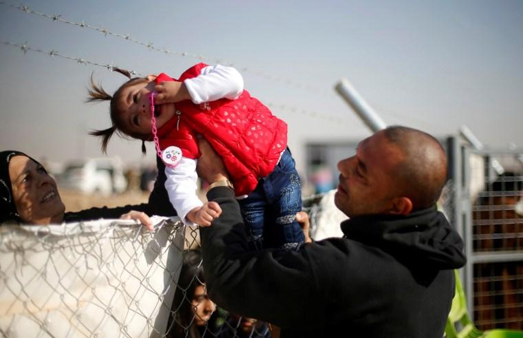 Image: A displaced Iraqi man