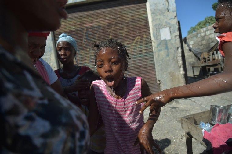 Image: HAITI-VOTE