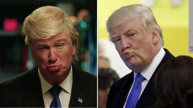 Baldwin - Trump