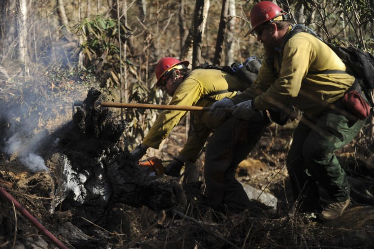 IMAGE: Fire crew in Tennessee