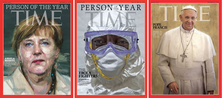 Time person of the year Covers