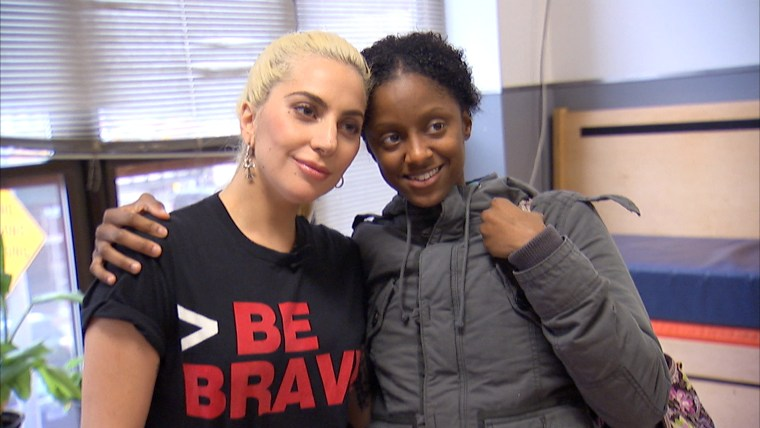 Lady Gaga Shares Kindness