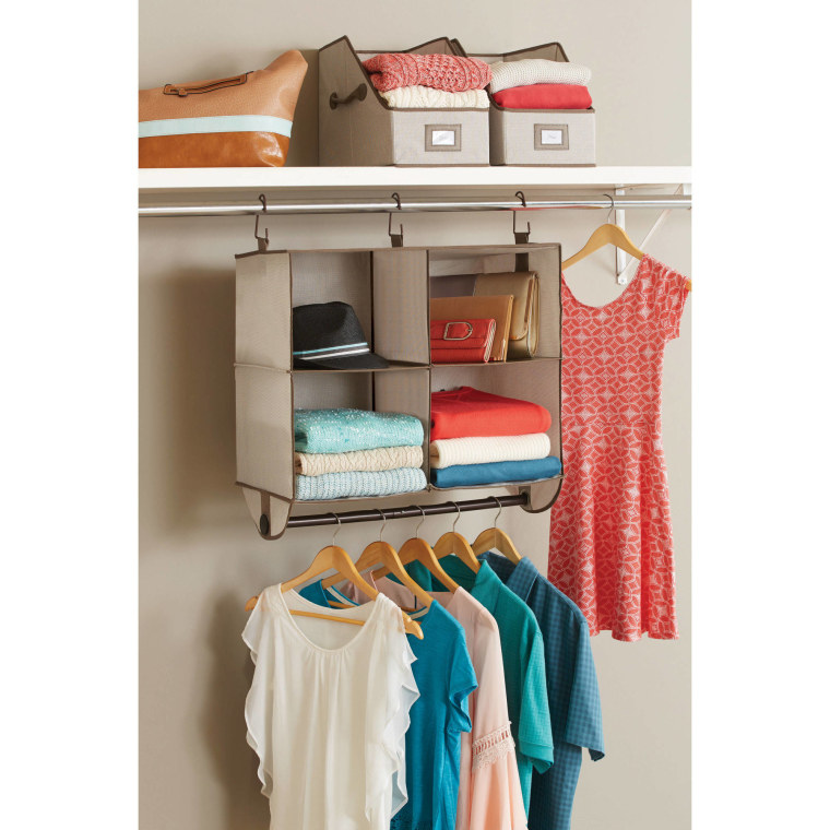 Better Homes And Gardens Hanging Four Shelf Organizer, $14, Walmart