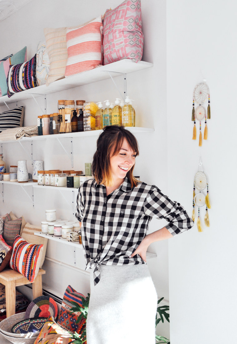 Stacy Longenecker of Leif Shop is in the business of great gifts.