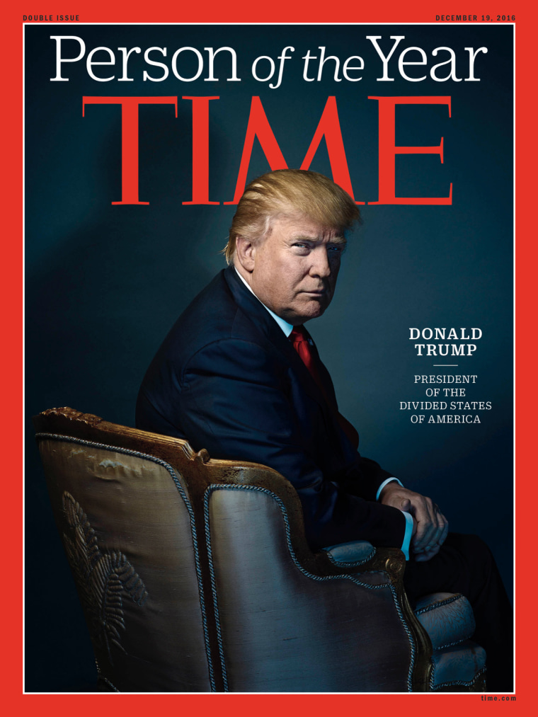 President-elect Donald Trump is TIME's Person of the Year for 2016