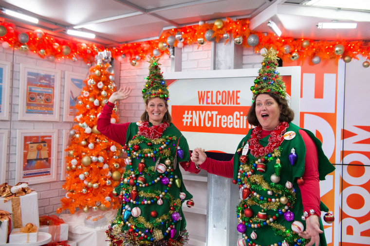 The #NYCTreeGirls get a TODAY surprise