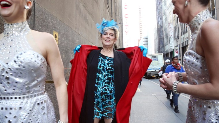 Janet Gregory finally lives out her dream of dancing with the Radio City Rockettes