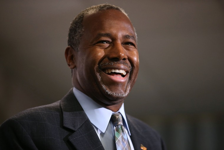 Image: GOP Presidential Candidate Ben Carson Campaigns In Colorado Day After Party's Third Debate