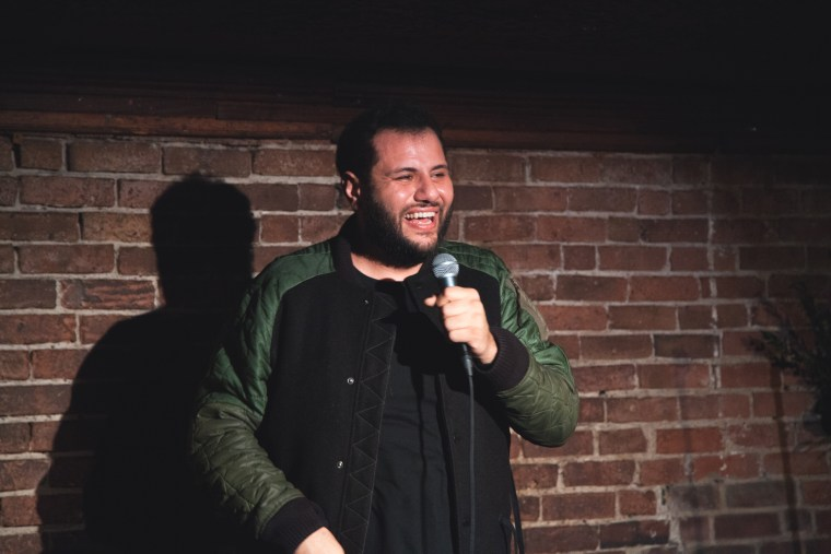Mo Amer likes to think of himself as a comedian who happens to be Muslim, rather than a Muslim-American comedian.