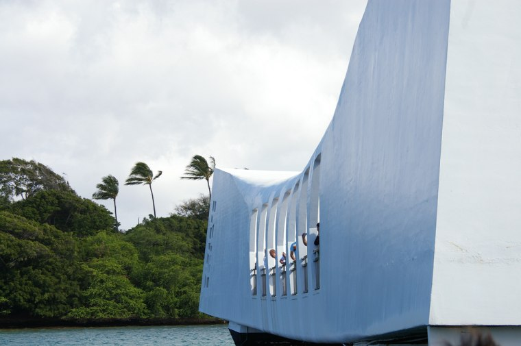 Image: The World War II Valor in the Pacific National Monument in Oahu, Hawaii, which commemorates the Dec. 7, 1941 attack on Pearl Harbor.