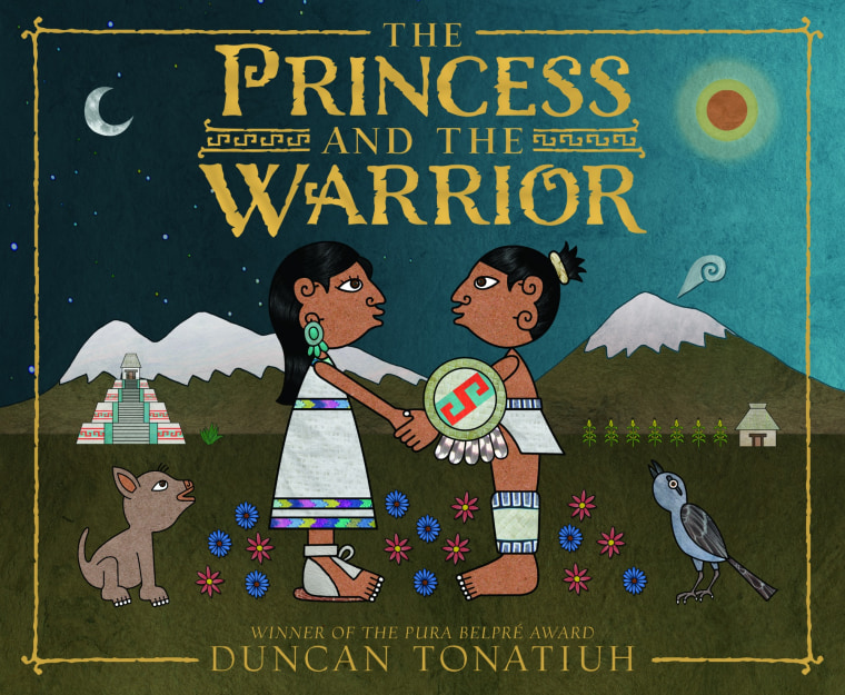 The Princess and the Warrior: A Tale of Two Volcanoes by Duncan Tonatiuh