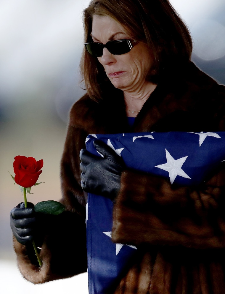 Image: BESTPIX - Funerals Held At Arlington National Cemetery For Military Personnel Killed In Shooting At Jordanian Base