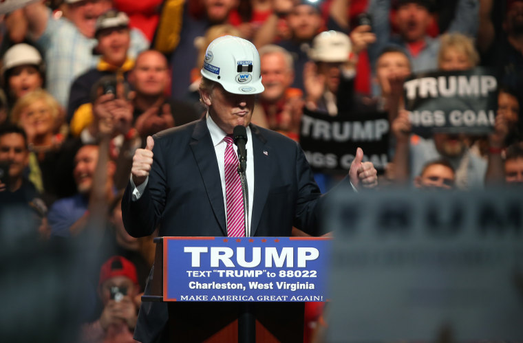 Donald Trump Holds Campaign Rally In Charleston, WV