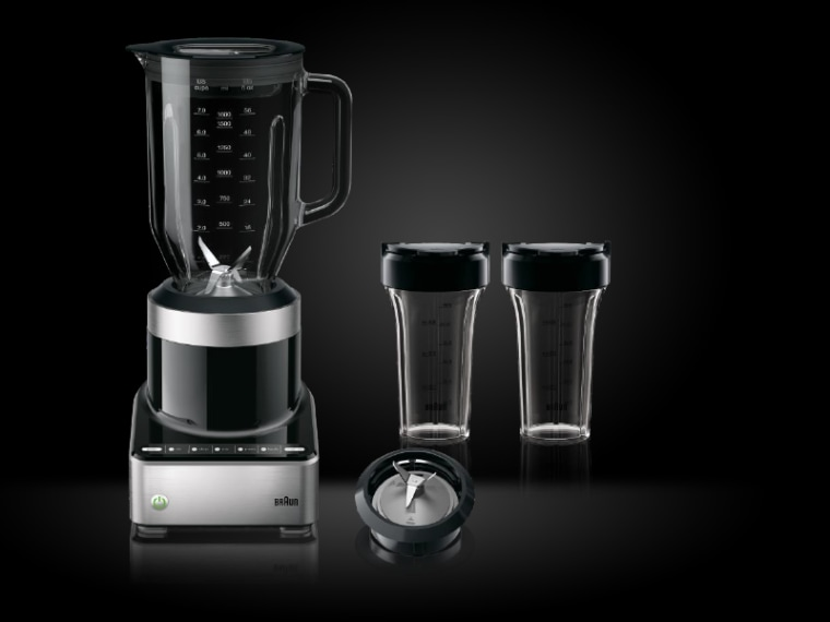 The Braun PureMix is versatile enough to handle everything from breakfast smoothies to chunky hot soup.