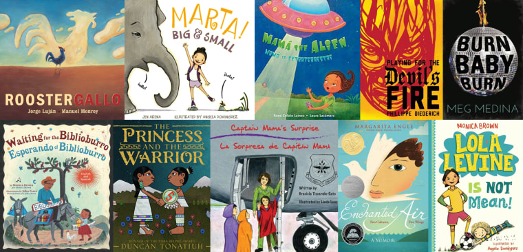 Collection of children and young adult books geared toward Latino audiences.
