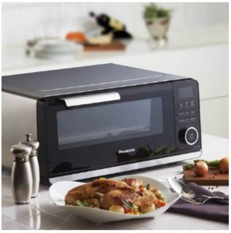 Cook a chicken in under 30 minutes with Panasonic's countertop induction oven.