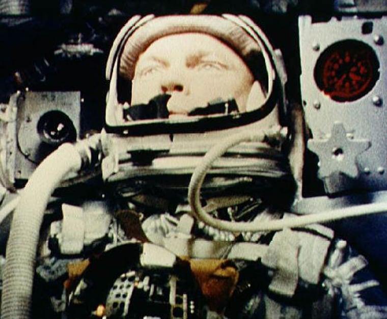 Image: This1962 NASA file photo shows then astronaut John