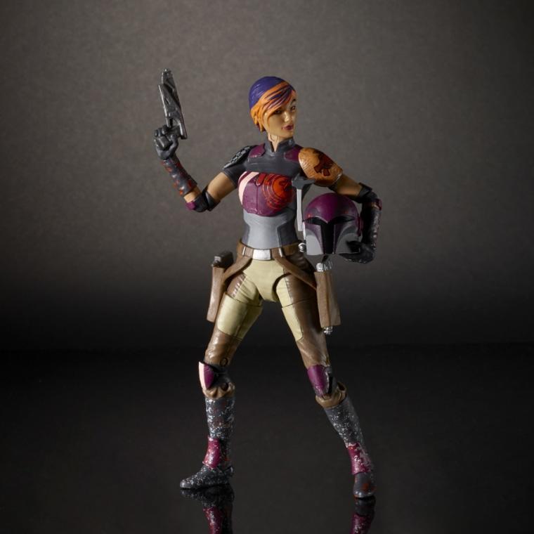 The Sabine Wren figure from Hasbro