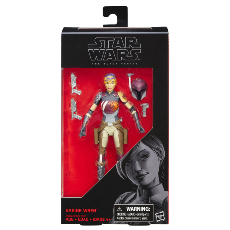 Sabine Wren, one of the heroes of the animated Star Wars: Rebels series, is not only coded as a woman of color on the show, she's also voiced by Indian-American actress Tiya Sircar.